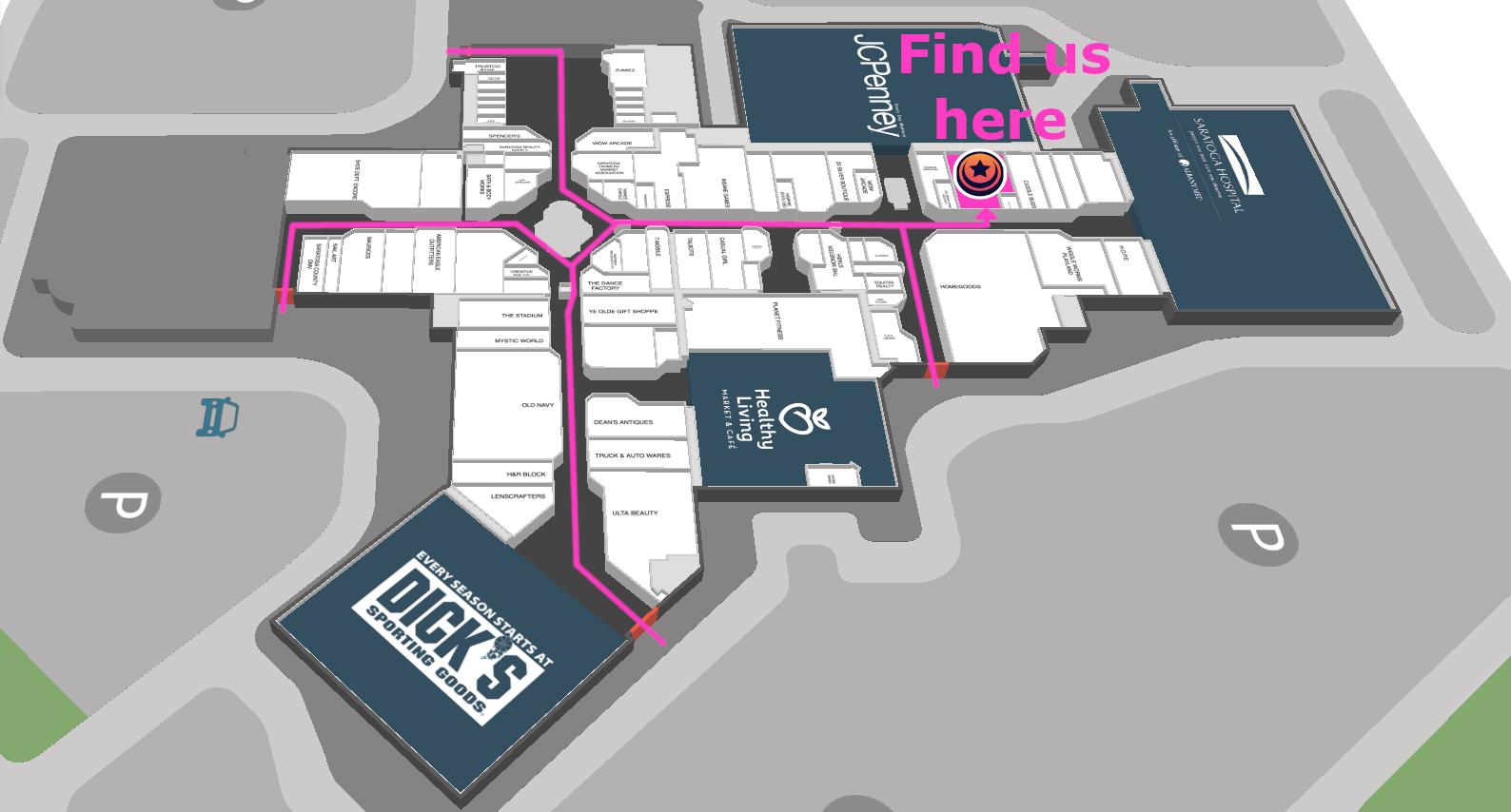 mall map far