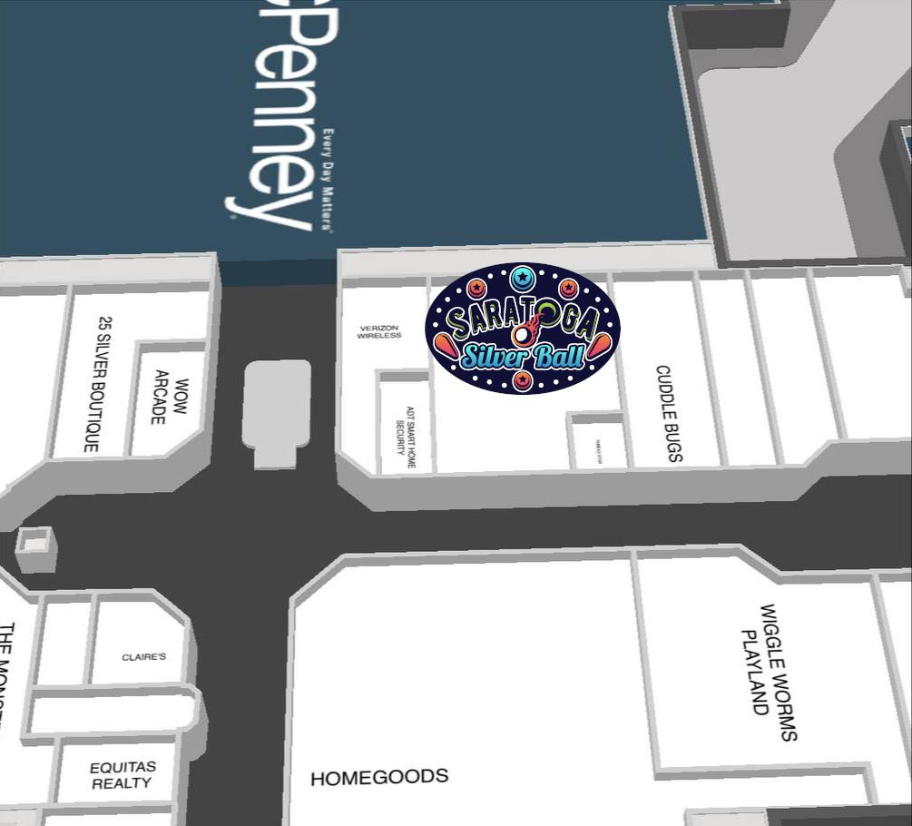 mall map near